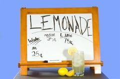 Annonce de citronnade Photographie stock