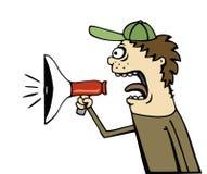 Annonce de corne de brume Photos libres de droits