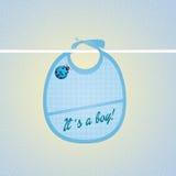 Annonce de naissance illustration libre de droits