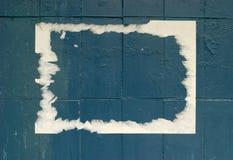 Annonce de papier grunge Photo libre de droits
