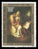 Annonce de peinture par Rembrandt photos stock