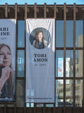 Annonce de yole de Tori Amos à Oslo Photo stock