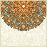Annonce fleurie de carte Image stock