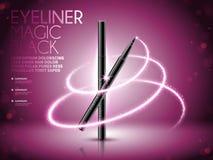 Annonces de stylo d'eye-liner Photos libres de droits