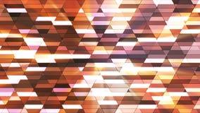 Annoncez le scintillement Diamond Hi-Tech Small Bars, Brown, résumé, Loopable, 4K illustration stock
