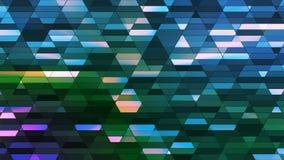 Annoncez le scintillement Diamond Hi-Tech Small Bars, couleur multi, résumé, Loopable, 4K illustration stock