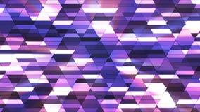 Annoncez le scintillement Diamond Hi-Tech Small Bars, couleur multi, résumé, Loopable, 4K illustration libre de droits