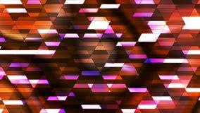 Annoncez le scintillement Diamond Hi-Tech Small Bars, couleur multi, résumé, Loopable, 4K illustration de vecteur