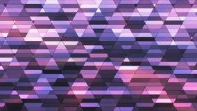 Annoncez le scintillement Diamond Hi-Tech Small Bars, pourpre, résumé, Loopable, 4K illustration de vecteur