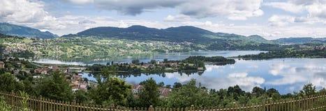 Annone jezioro zdjęcia royalty free