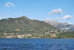 Annone lake. Lago di Annone Lombardia, di origine glaciale Stock Photography