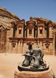 Annons Deir, Petra royaltyfri foto