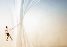 Annonsera begreppet Royaltyfri Foto