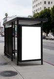annonsera den utomhus- affischtavlan Fotografering för Bildbyråer