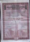 annonsering av affischen Arkivbild