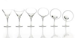 annonsering av böjlig exponeringsglasreflecwhite Royaltyfria Bilder