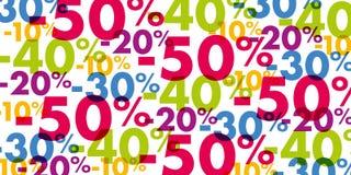 Annonsering av begrepp för att visa lågpriser under befordringar stock illustrationer