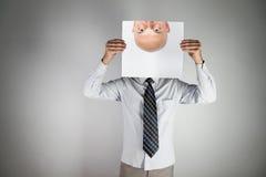 annonymous πρόσωπο Στοκ φωτογραφία με δικαίωμα ελεύθερης χρήσης