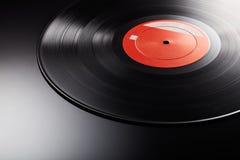 Annotazione nera con l'etichetta arancio Fotografie Stock Libere da Diritti