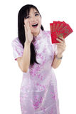Announcement A Chinese New Year Royalty Free Stock Photo