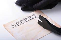 Announcement Secret Stock Photos