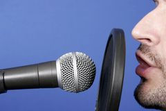 Announcer Royalty Free Stock Photo