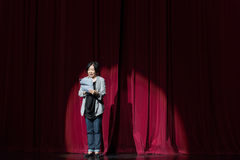 "Announcer-jiangxi opera""four dreams of linchuan"" Stock Images"