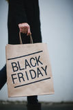 Announcing Black Friday Royalty Free Stock Image