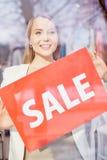 Announcing sale Stock Photos