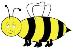 Annoyed bee Stock Photo