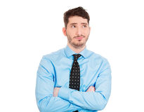 Annoyed, cocky man Stock Photography