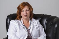 Annoyed doctor Royalty Free Stock Image