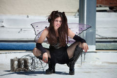 Annoyed Fairy Royalty Free Stock Images