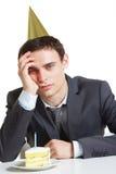Annoyed man Stock Photography