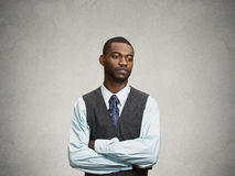 Annoyed, sad, offended man Royalty Free Stock Photos