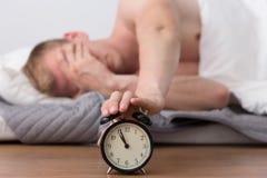 Annoying alarm clock Stock Images