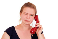 Annoying call Stock Image
