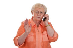 Annoying call Stock Images