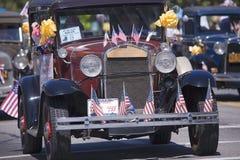 Annuaire 4ème de défilé de juillet dans Ojai Images stock