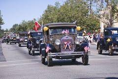 Annuaire 4ème de défilé de juillet dans Ojai Photographie stock