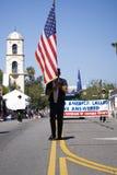 Annuaire 4ème de défilé de juillet dans Ojai Photographie stock libre de droits