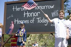 Annual 4th of July Parade in Ojai, Stock Photography