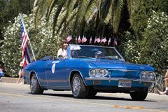 Annual 4th of July Parade in Ojai Stock Photo