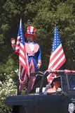 Annual 4th of July Parade in Ojai Stock Images