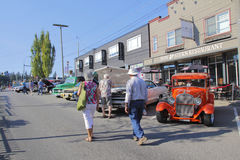 Annual Abbotsford Vintage Car Show Stock Photography