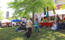 Annual Africa In April Festival in Downtown Memphis Royalty Free Stock Images