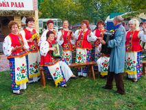 Annual agro exhibition SUMY-2012 Royalty Free Stock Photo