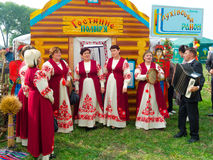 Annual agro exhibition SUMY-2012 Royalty Free Stock Photography