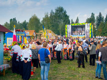 Annual agro exhibition SUMY-2012 Royalty Free Stock Images