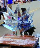 Fire and Ice Festival in Qualicum Beach, BC Royalty Free Stock Image